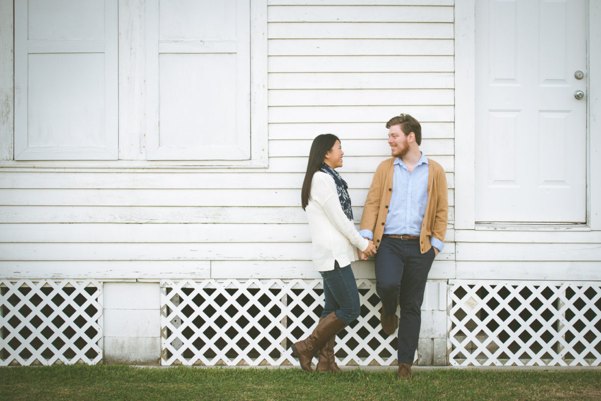 Heather and Ben | Houston Outdoor Engagement Shoot