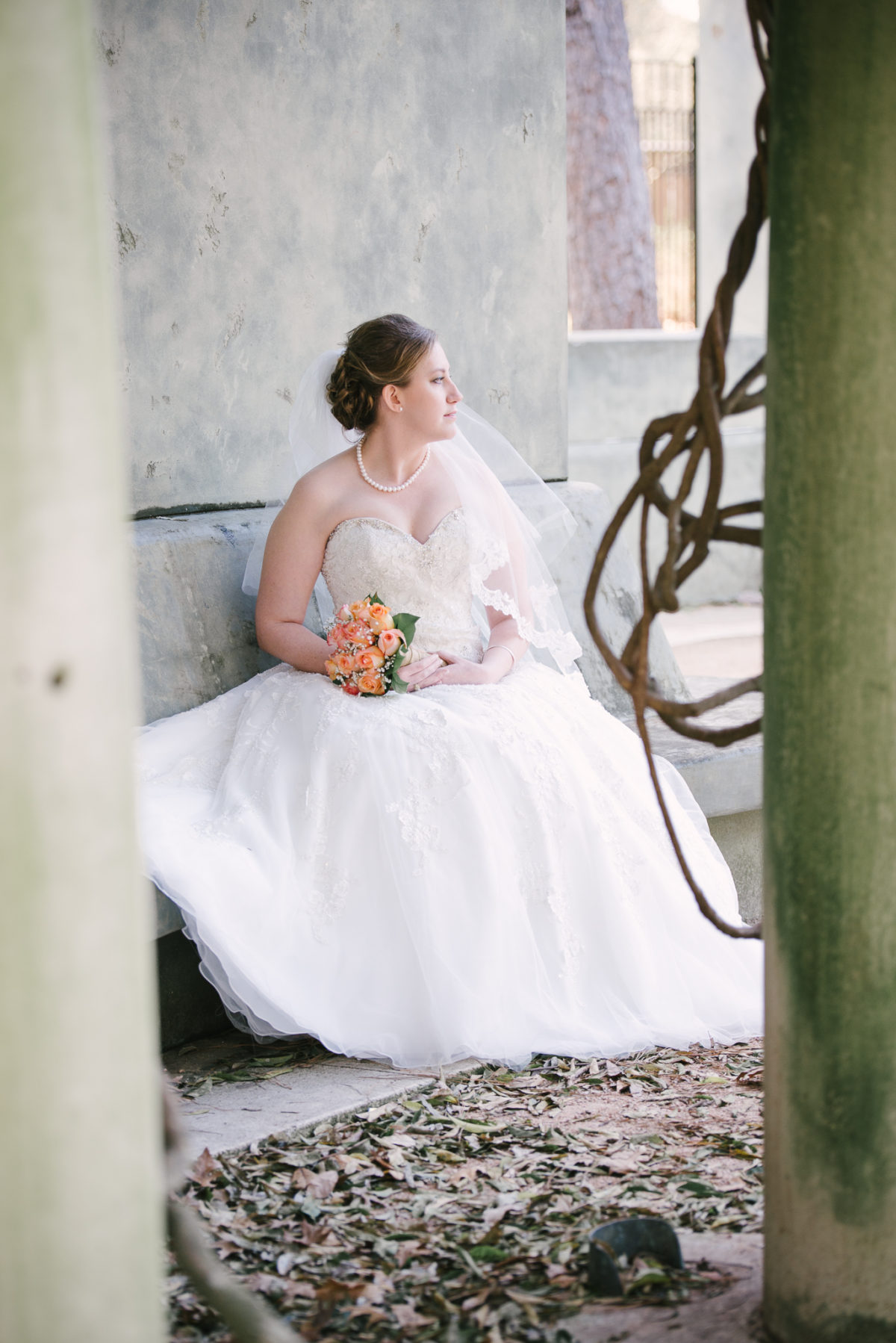 Sarah | Bridals in Hermann Park