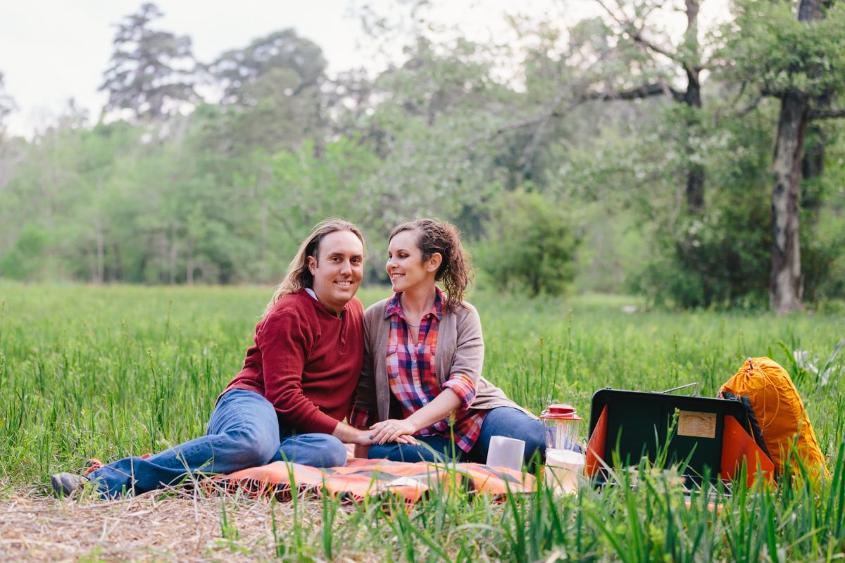 Katie and Drew | Camping Inspired Outdoor Engagement